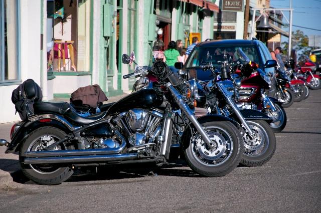 Concentração de motos em Jerome