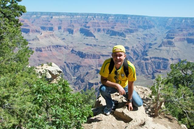 O primeiro encontro com o Grand Canyon