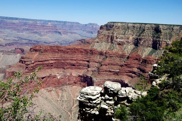 O mosaico de cores do Grand Canyon