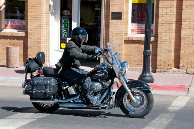 As motos são comuns em Willian's
