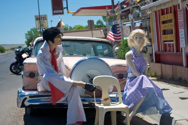 Marylin e Elvis dão as boas vindas