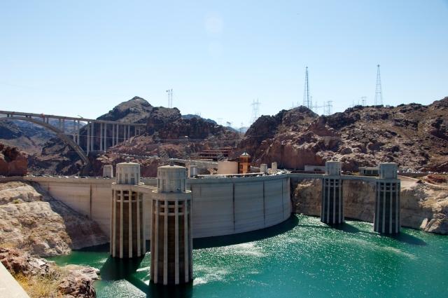 Hoover Dam - A maior hidrelétrica do Rio Colorado