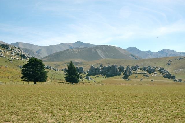 Castle Hill - Uma das paisagens do Senhor dos Anéis