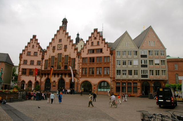 Zum Römer - a antiga Prefeitura de Frankfurt