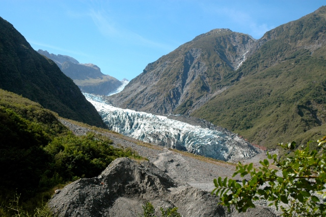 Base do Glaciar Franz Josef