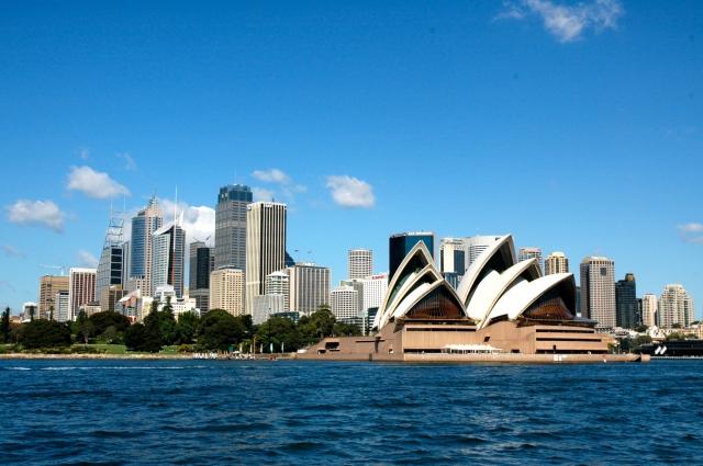A melhor vista de Sydney é a partir da Baía
