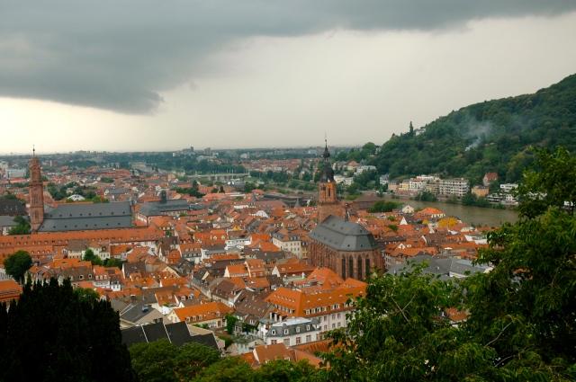 Heidelberg, uma cidade romântica cercada por uma floresta exuberante
