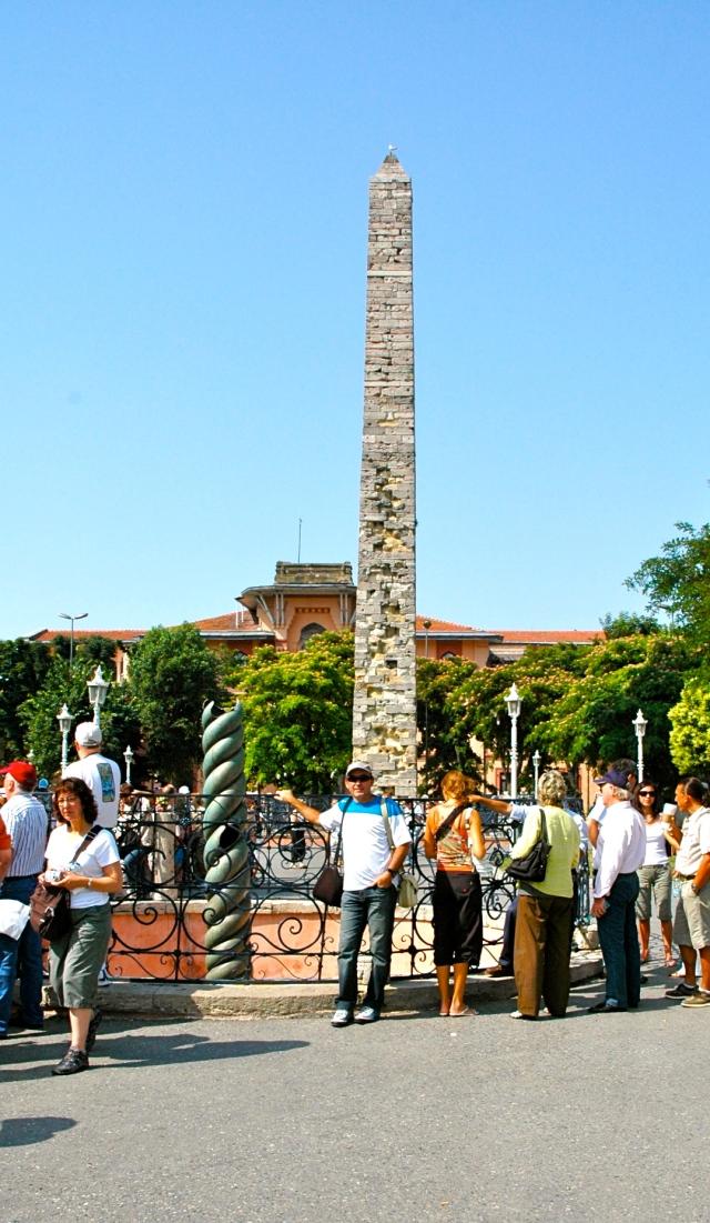 A Coluna Serpentina