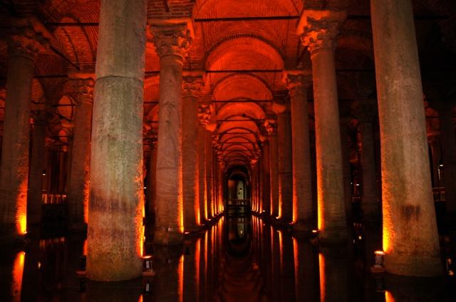A fantástica Cisterna da Basílica de Istambul