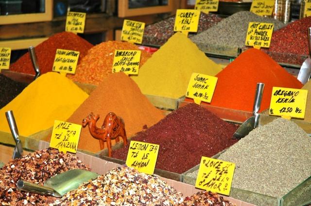 Especiarias no Grand Bazar