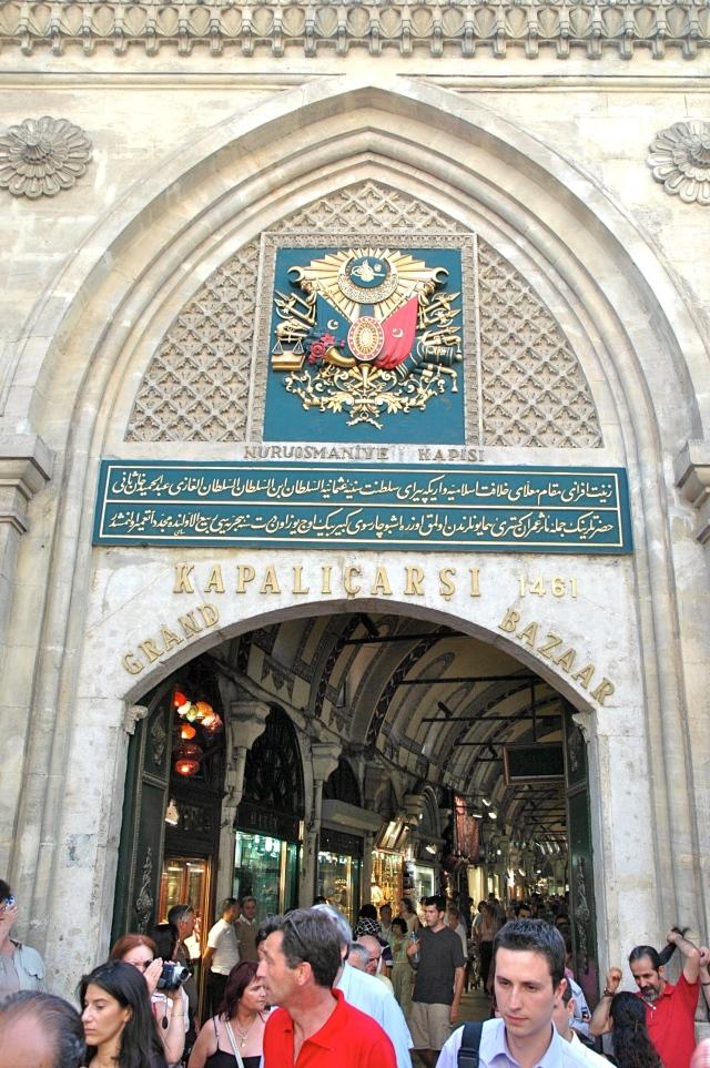 Uma das portas de entrada do Grand Bazar