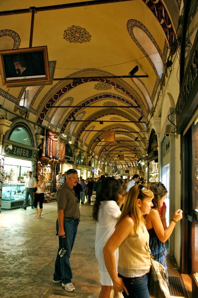 Interior do Grand Bazar