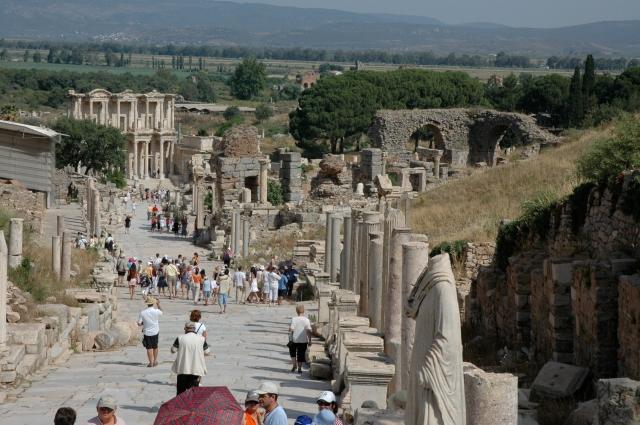 Curetes - A fantástica avenida de mármore de Éfeso
