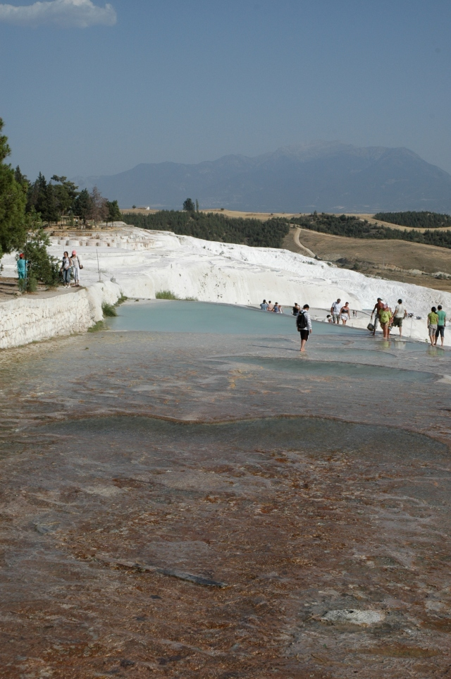 As Piscinas de Pamukkale