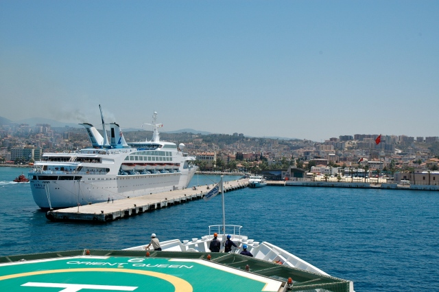 O Porto de Kusadasi