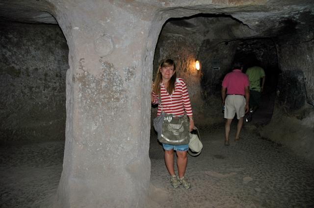 As casas subterrâneas serviram de esconderijo para os cristãos
