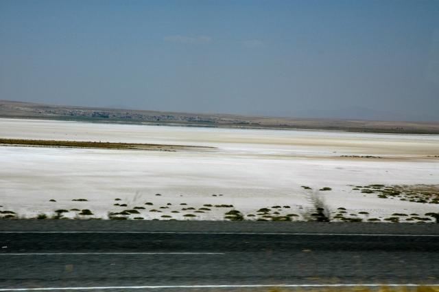 O Lago Tuz - Um lago de sal