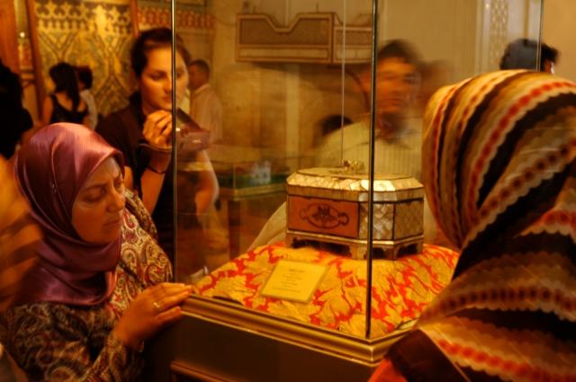 Relíquia no Museu Mevlana