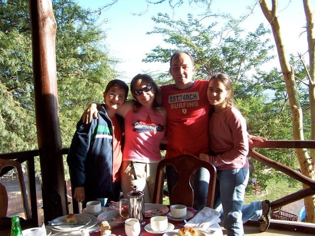 O nosso pequeno grupo de viagem