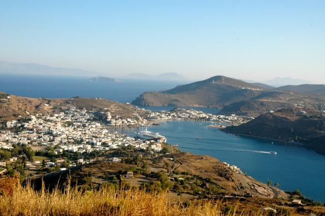 Arquipélago do Dodecaneso - O continente ao fundo é a Turquia.