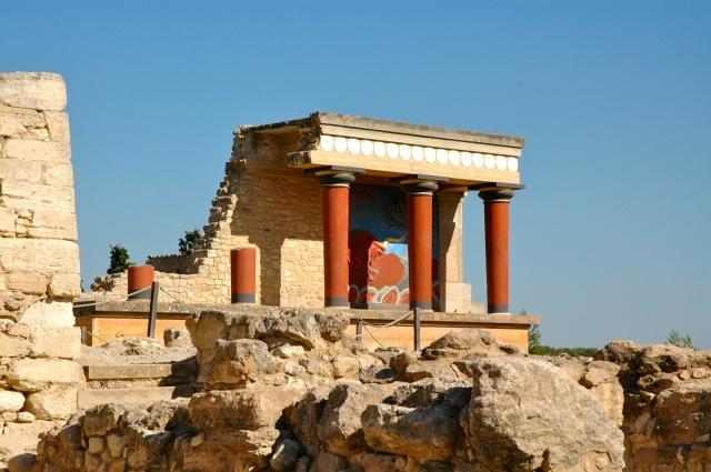 O Touro Atacando, um dos mais famosos afrescos de Knossos