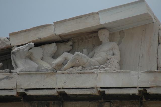 Detalhes do Partenon