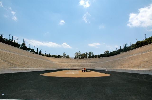 O Estádio Panathinaiko - aqui começou a história dos Jogos Olímpicos