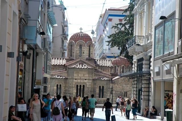 O bairro histórico de Plaka