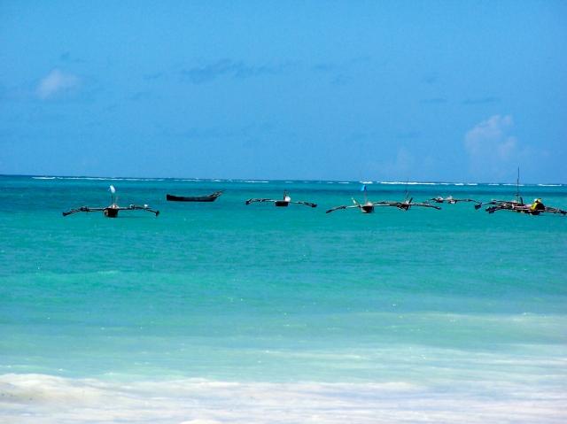 O azul de Zanzibar