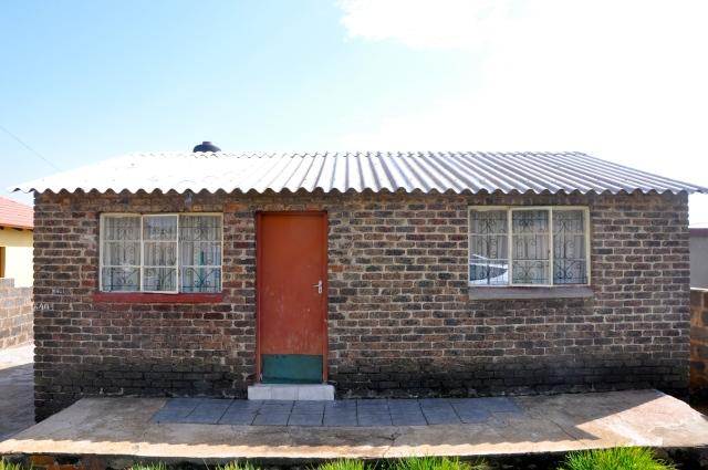 As casas típicas do Soweto