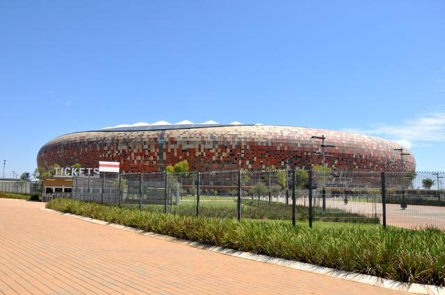 Soccer City - mais uma atração turística de Johanesburgo