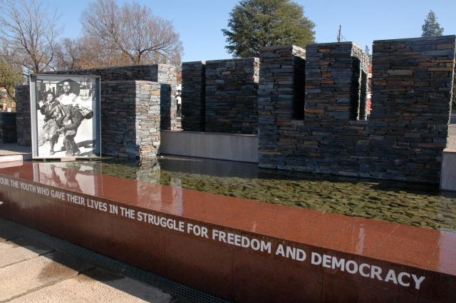 Museu Hector Pieterson, que conta a história do massacre de 1976.