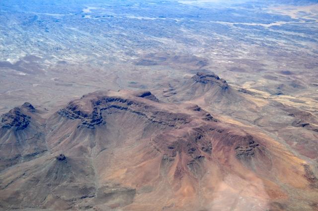 A paisagem muda de novo a partir de Swakopmund