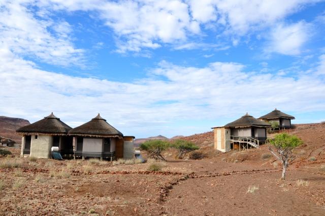 O Acampamento Damaraland