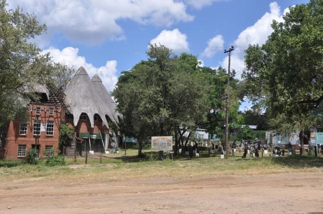Principal centro comercial de Victoria Falls