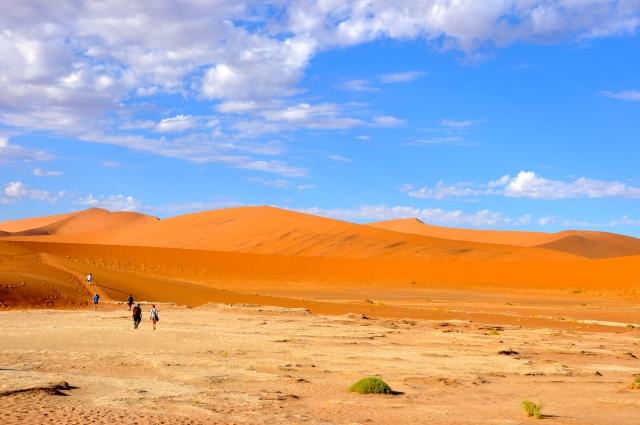 O difícil caminho até o Vale da Morte.