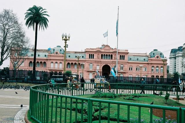 A Casa Rosada - sede do governo da Argentina
