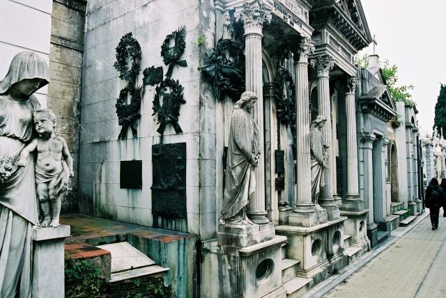 O Cemitério da Recoleta