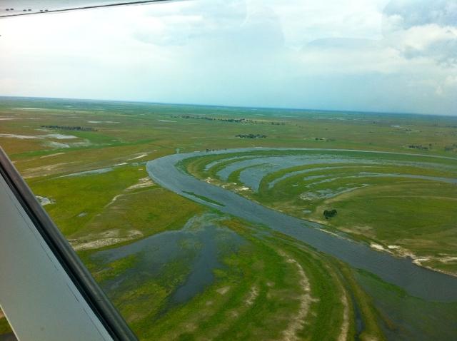 O mais bonito voo sobre Botswana
