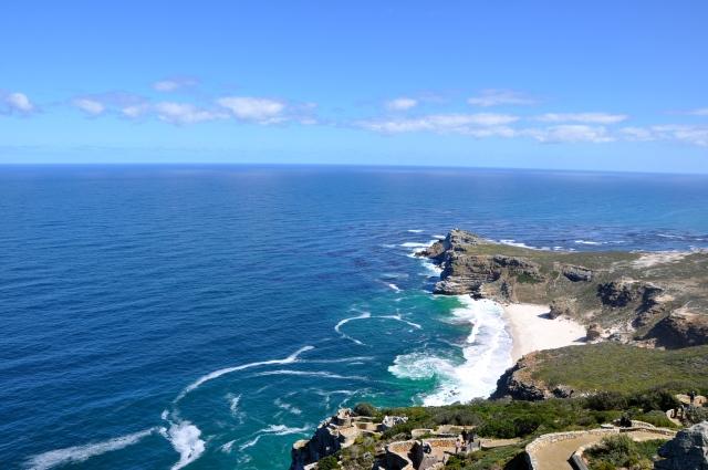 O Cabo das Tormentas - Quase sempre com águas agitadas.