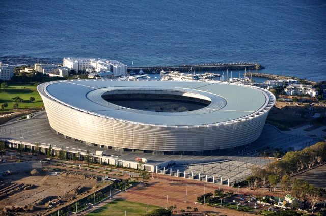 Green Point, o moderno estádio de Cape Town