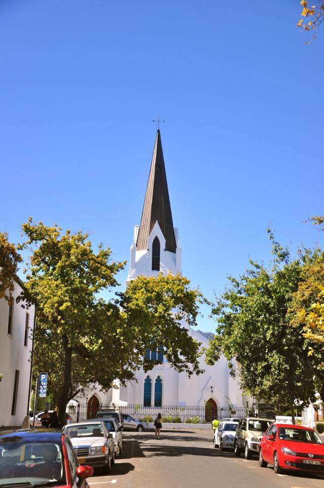 A Igreja matriz de Stellenbosch