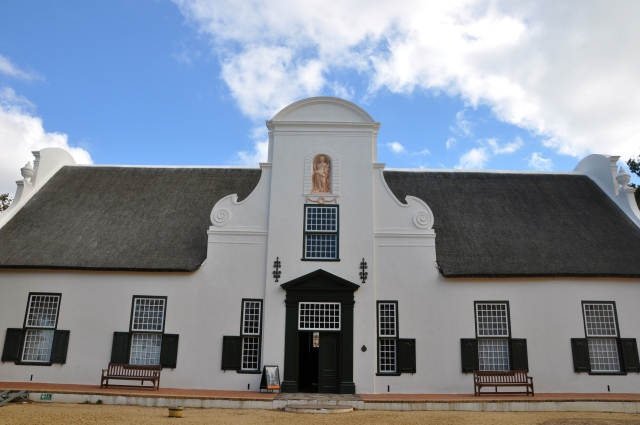 A vinícola Constantia nos arredores de Cape Town.