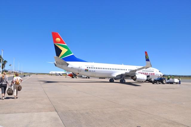 Voltando à África do Sul