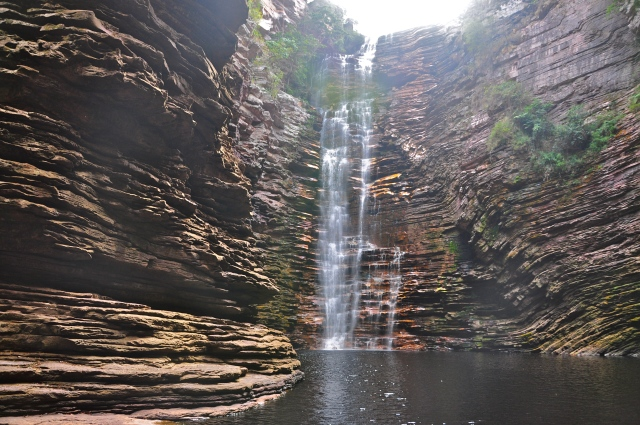 A incrível imagem da Cachoeira do Buracão