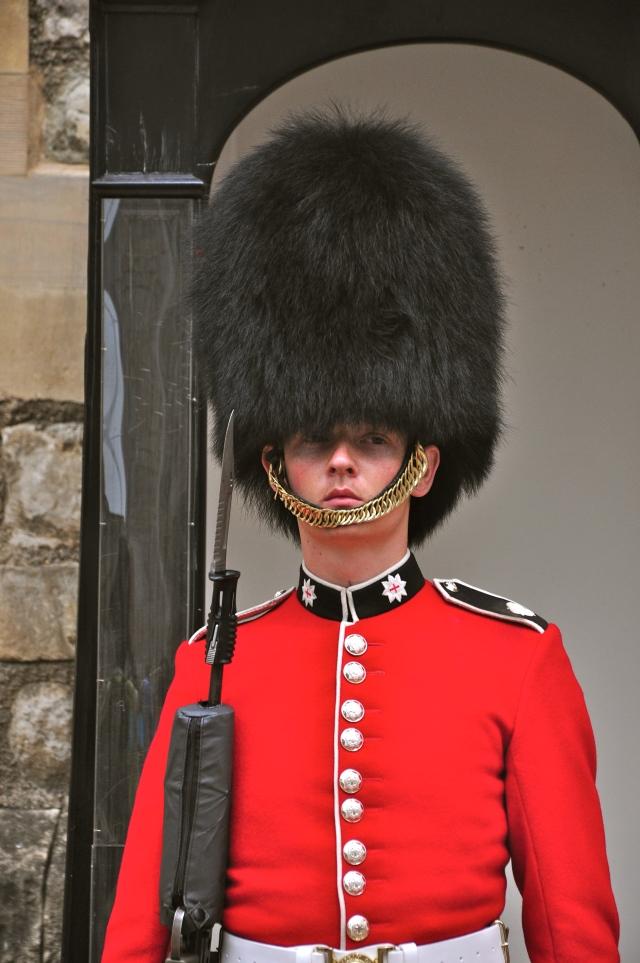Os soldados que cuidam da Torre protegem os corvos.