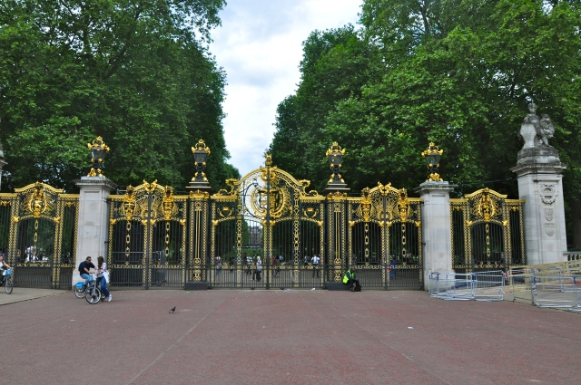 Portão de entrada do Green Park.