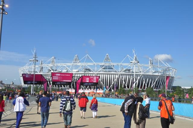 Arena de atletismo do Parque Olímpico.