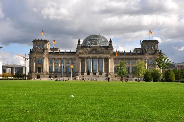 O Reichstag - Prédio do parlamento Alemão.