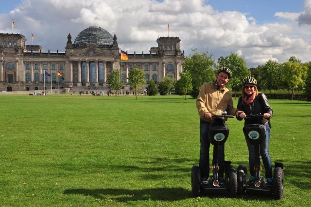 Conhecendo Berlim de Segway